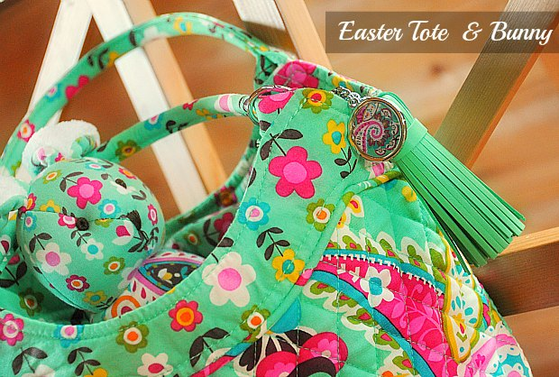 Easter Tote & Bunny222