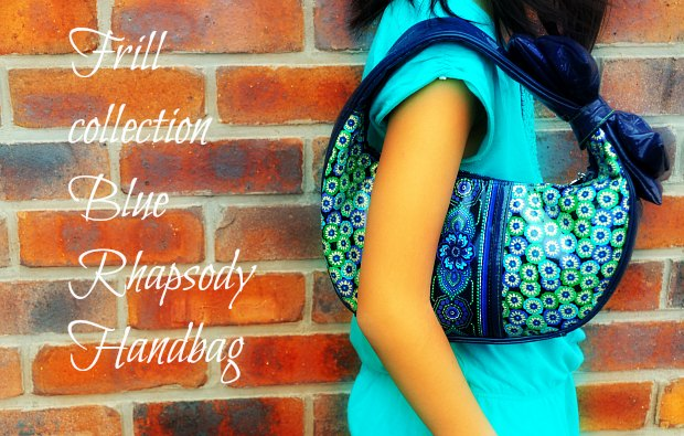 Frill collection Blue Rhapsody Handbagvera22