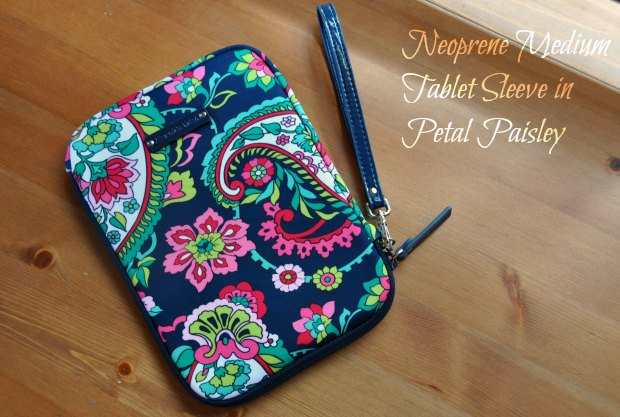 Neoprene Medium Tablet Sleeve in Petal Paisley11332
