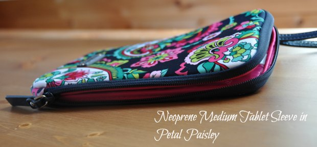 Neoprene Medium Tablet Sleeve in Petal Paisley33211
