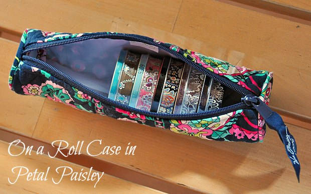 On a Roll Case 3302Petal Paisley