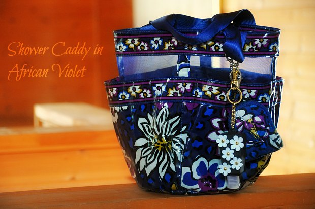 Shower Caddy in African Violet7790