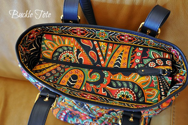 Buckle Tote venetianpaisley2211