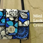Blue Bayou Mini Turn Lock Crossbody 可愛いポシェット財布