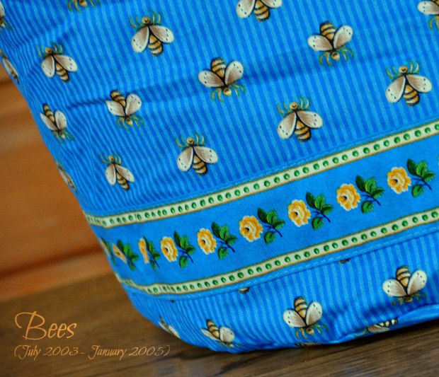 Bees  dittybag892