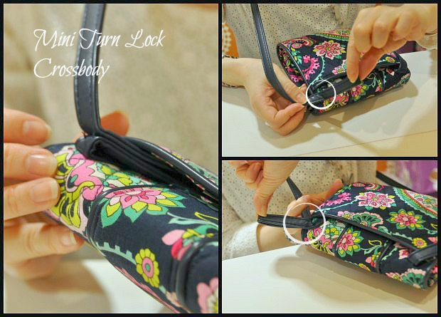 Mini Turn Lock Crossbody  Collage