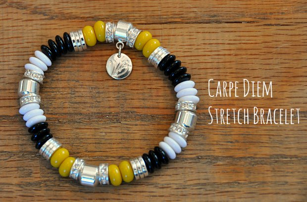 Carpe Diem Stretch Bracelet10045