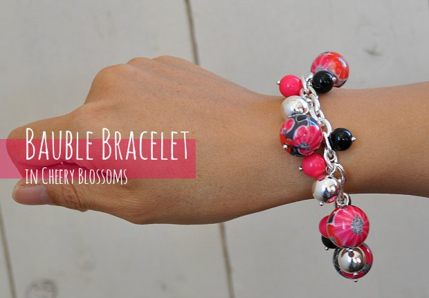 0Bauble Bracelet in Cheery Blossoms 845
