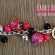 Bauble Bracelet in Cheery Blossoms 0842