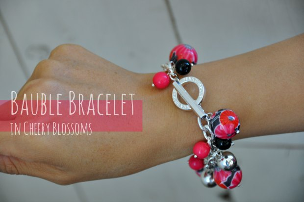 Bauble Bracelet in Cheery Blossoms 0847