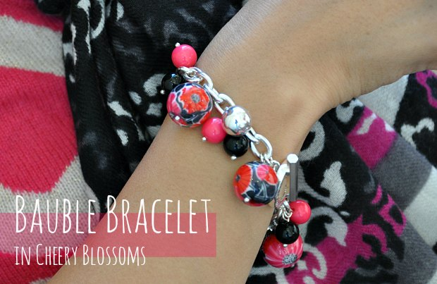 Bauble Bracelet in Cheery Blossoms 110849