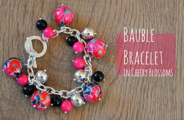 Bauble Bracelet in Cheery Blossoms 136