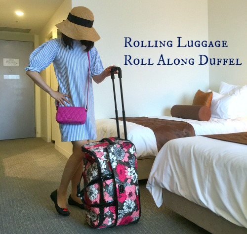 Rolling Luggage Roll Along Duffel 88